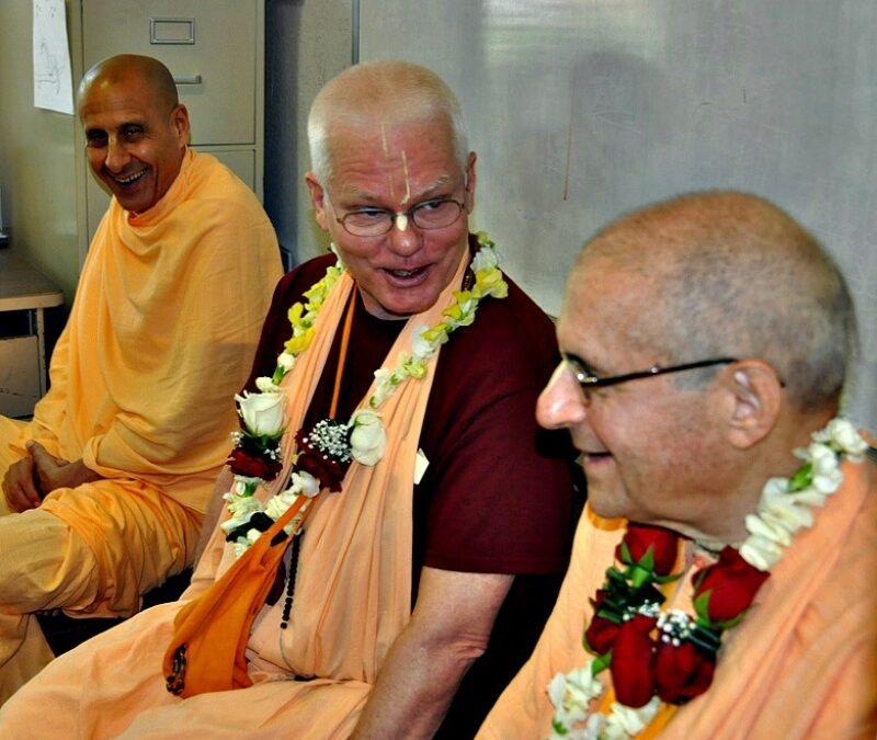 3 Senior Maharajas Visit
