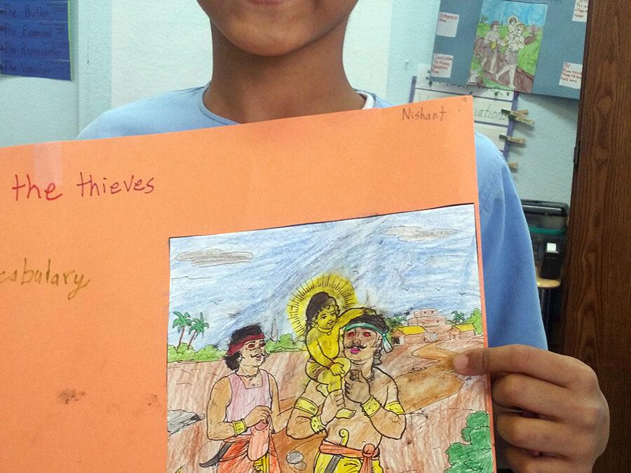 """Nimai and the Thieves"" by Nishant Sura"