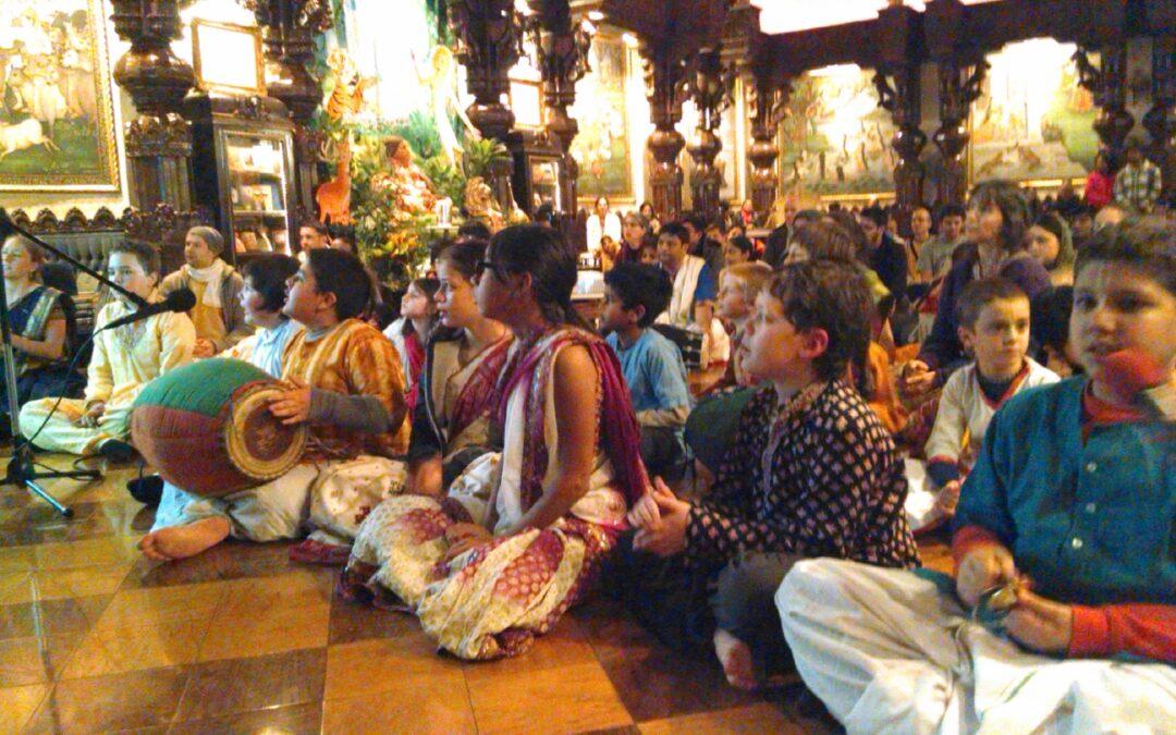 Bhajans at Sri Gaura Purnima 2015