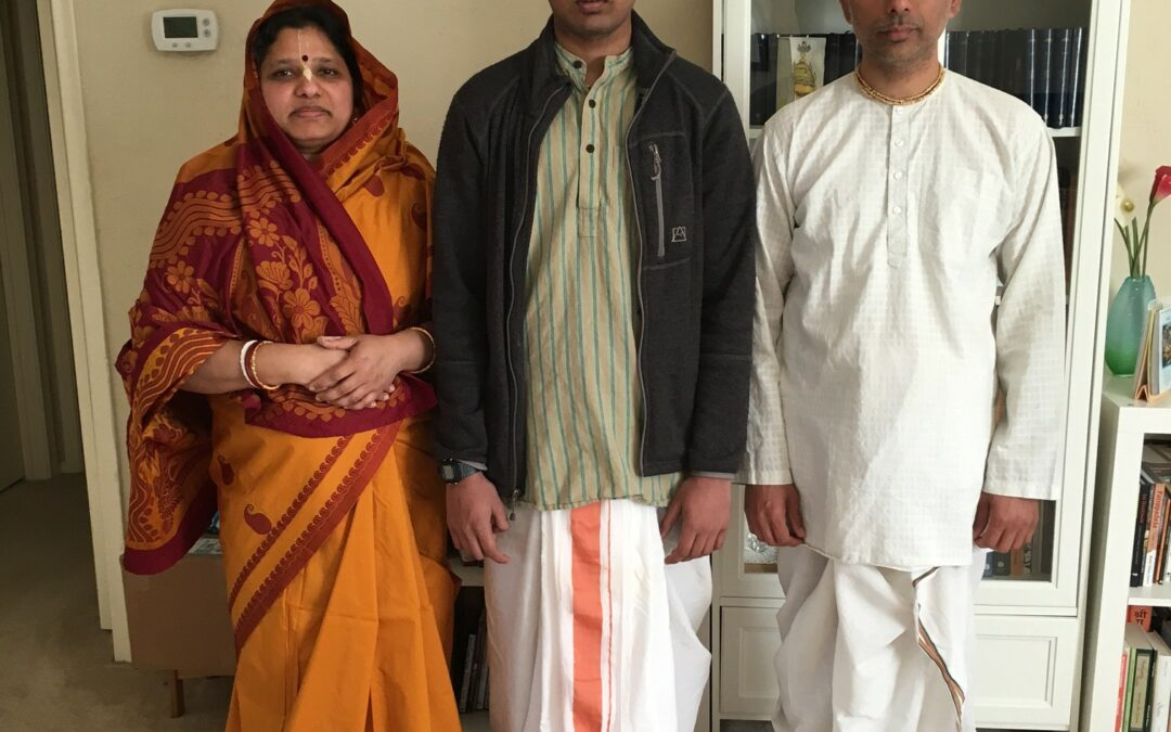 Donor Spotlight: Sridhara-syama Prabhu and Lalita Sakhi Mataji