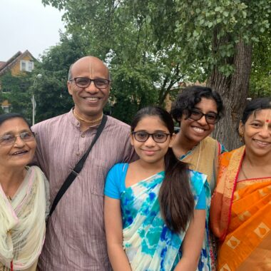Donor Spotlight: Prem Chandra Prabhu & Family